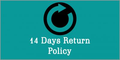 14 Days Return Policy