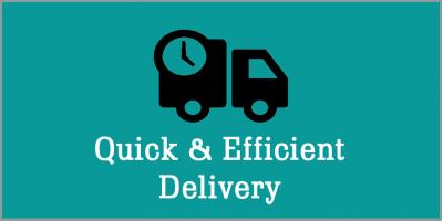 Quick & Efficient Delivery