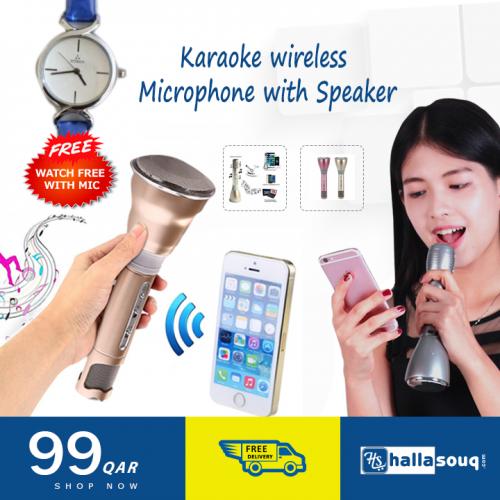 Karaoke Player Wireless Microphone Handheld Condenser