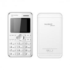 Kechaoda Credit Card Size Mobile Phone - White (K116)