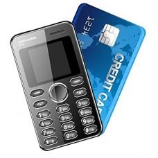 Kechaoda Credit Card Size Mobile Phone - Black (K116)