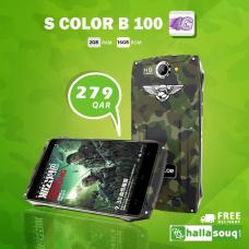 S COLOR B100,4G Dual Sim, Dual Cam, 5″ IPS