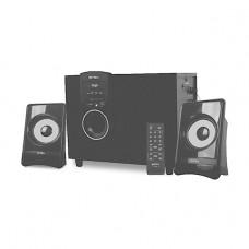 INTEX SUBWOOFER 2.1 CH 225 SUF BT (USB/SD/FM/RC), Black