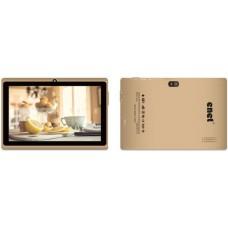 Enet E714 Tablet - 7 Inch, 8 GB, Wi-Fi, Gold