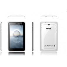 Enet E722 Tablet - 7 Inch, 4 GB, 2G, WHITE