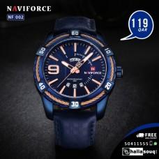 NF 002 NAVIFORCE men watches Luxury Brand Sport Full Steel Quartz Watches Men's Waterproof Military Wrist watch men relogio masculino