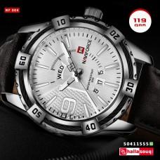 NF 004 NAVIFORCE Top Brand Luxury Men's Casual Sport Quartz Watch Mens Watches Quartz-Watch Leather Strap Military Wrist Watch Male