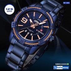 NF 005 NAVIFORCE men watches Luxury Brand Sport Full Steel Quartz Watches Men's Waterproof Military Wrist watch men relogio masculino