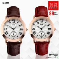 SKMEI SK 1083 Women Fashion Casual Quartz Watches Buy 1 get 1 free @ 89QAR