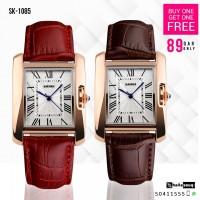 SKMEI SK 1085 Brand Women Watches Fashion Casual Quartz Watch Buy 1 Get 1 Free @ 89QAR