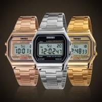 SKMEI SK 011 Brand Luxury Fashion Digital Watch 30m Waterproof Chrono Relogio Alloy Masculino Top Wriswatches Clock