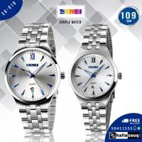 Skmei SK 018 couple watch  full steel wristwatches dive 30m @109 QAR