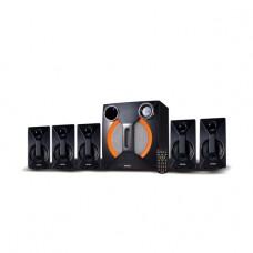 INTEX HOME THEATRE 5.1 CH 4100 SUF BT (USB/SD/MMC/FM/RC/BT), Black