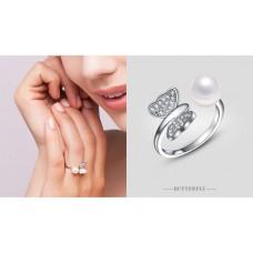 DA 002 DEEANA 925 SILVER RING buy 1 get 1 free @ 99 QAR  (2 pcs only)