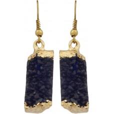 Blueberry Women's Metal and Plastic Fancy Faux Stone Earrings, Gloss