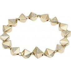 Fossil Women's Nugget Link Stainless Steel Bracelet - JF02005710