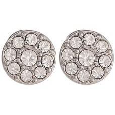 Fossil Women's Stainless Steel Disc Stud Earrings - JF00828040