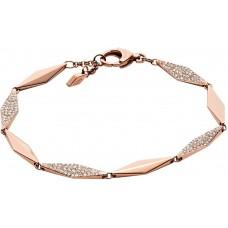 Fossil Women's Stainless Steel Chain Bracelet - JF02016791
