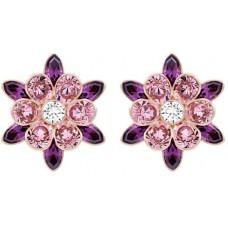 Swarovski Women's Cinderella Flower Pierced Earrings