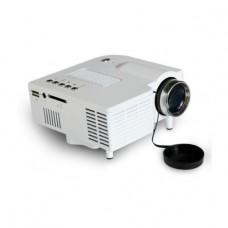 Zakk UC28 PRO HDMI Portable Mini LED Projector Home Cinema Theater AV VGA USB SD 1080p