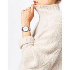 Luxury Women's Silver Dial Watch - NY245