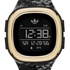 Adidas Denver Men's Black Digital Dial Silicone Band Watch - ADH3045