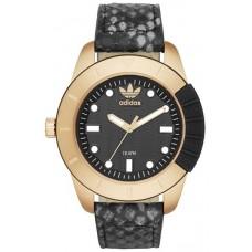 Adidas Originals Men's Black Dial Leather Band Watch - ADH3052