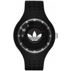 Adidas Ipswich Unisex Black Dial Silicone Band Watch - ADH3059