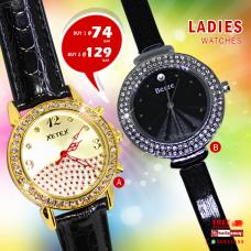 Berze Xetex ladies watch offer buy 1@ 74 QAR