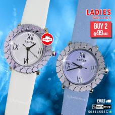 Berze Xetex ladies watch offer buy 2@ 99 QAR