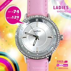 Berze korean design ladies watch offer buy 1@ 74 QAR