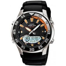 Casio Marine Gear Men's Ana-Digi Dial Resin Band Watch - AMW-710-1AV