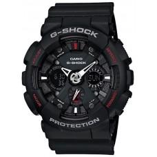 Casio G-Shock Men's Black Ana-Digi Dial Resin Band Watch [GA-120-1AHDR]