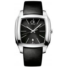 Calvin Klein for Men - Analog Leather Band Watch - K2K21107