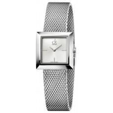 Calvin Klein Mark Women's Silver Dial Stainless Steel Band Watch - K3R23126