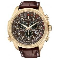Citizen BL5403-03X Mens Digital Leather Watch