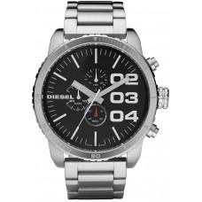Diesel Men's Black Dial Stainless Steel Band Watch - DZ4209