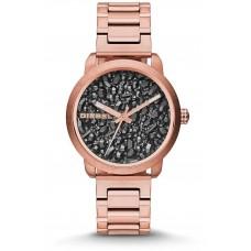 Diesel Flare Women's Black Dial Stainless Steel Band Watch - DZ5427
