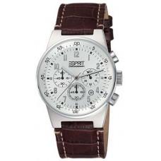 Esprit Mens ES000T31021 Brown Leather Analog Watch