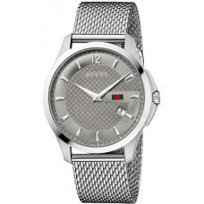 Gucci G-Timeless Series Mesh Bracelet Timepiece for Men YA126315