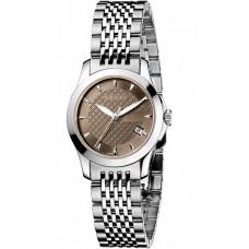 Gucci G-Timeless Swiss Made SS Bracelent & Body Fashion Watch for Women YA126503
