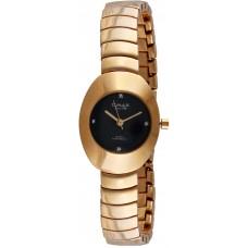 Omax Black Dial for Women - Analog OAB220 Metal Watch