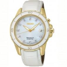 Seiko Sportura Kinetic Diamond Accent SKA876P1 Watch for Women