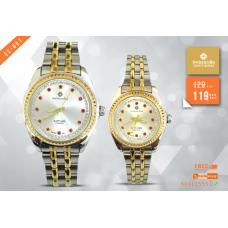SC 001 Swiscardin Pair Watch
