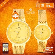 SC 007 Swiscardin Pair Watch