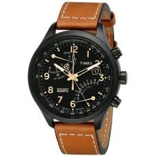 Timex Mens T2N700 Intelligent Quartz SL Series Fly-Back Chronograph Brown Leather Strap WatchTimex Mens T2N700 Intelligent Quartz SL Series Fly-Back Chronograph Brown Leather Strap Watch