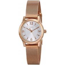 Timex Women's T2P4599J Main Street Modern Minis Analog Display Analog Quartz Rose Gold Watch
